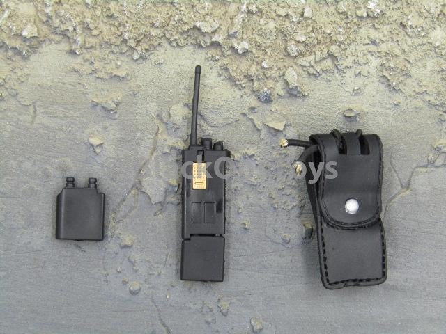 "LAPD Female Patrol Officer ""Somers"" Radio & Pouch Set"