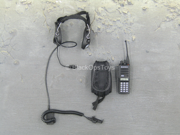 SDU Assault Leader - Black Radio w/Headset
