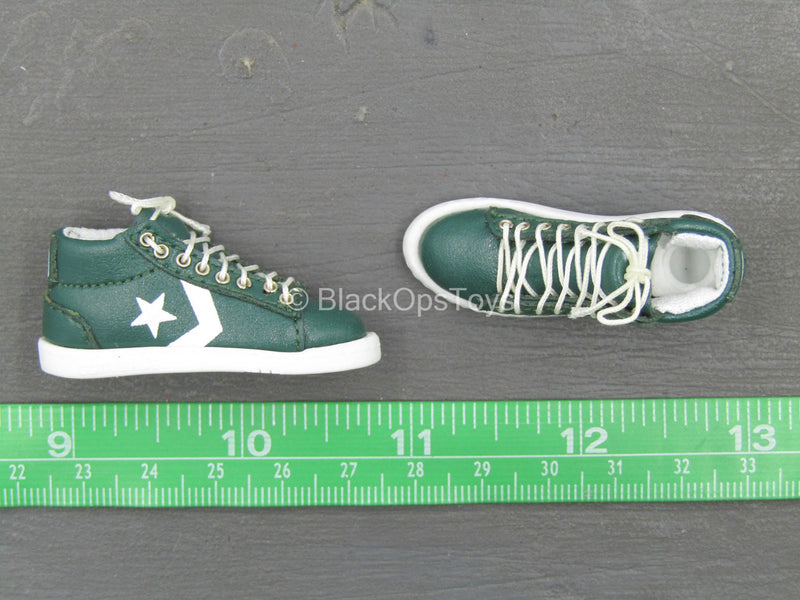80s Celtics Limited Edition Larry Bird - Leather Sneakers (Peg Type)