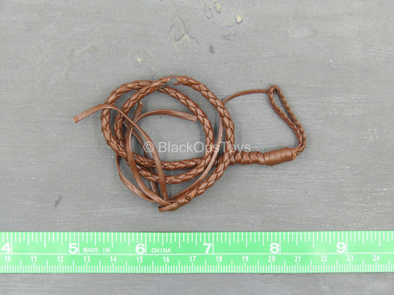 (Damaged) Brown Coiled Whip