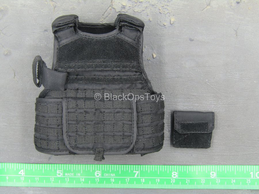 SDU Assault Leader - Black MOLLE Plate Carrier Vest