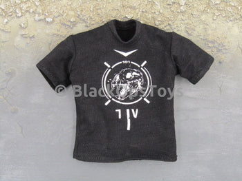 War of Order Heavy Weapons Specialist BLACK S/S TEE with DINOSAUR SKULL GRAPHIC