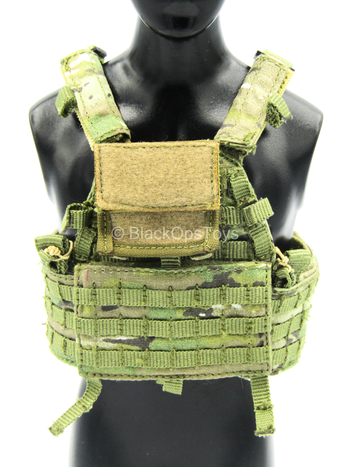 Mark Forester - US CCT - Multicam Plate Carrier Vest w/Admin Pouch