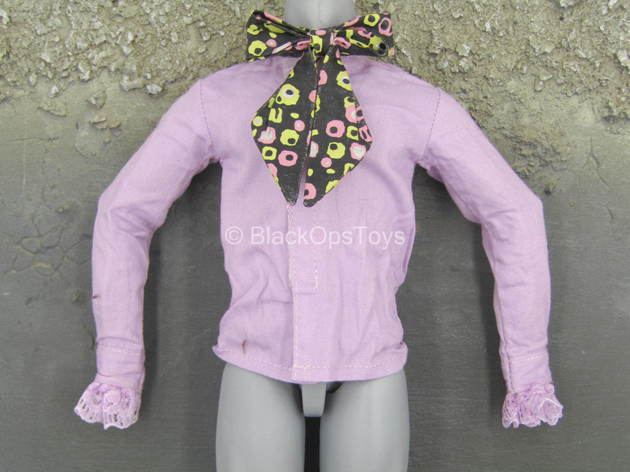 Mad Hatter - Purple Shirt w/Bow Tie