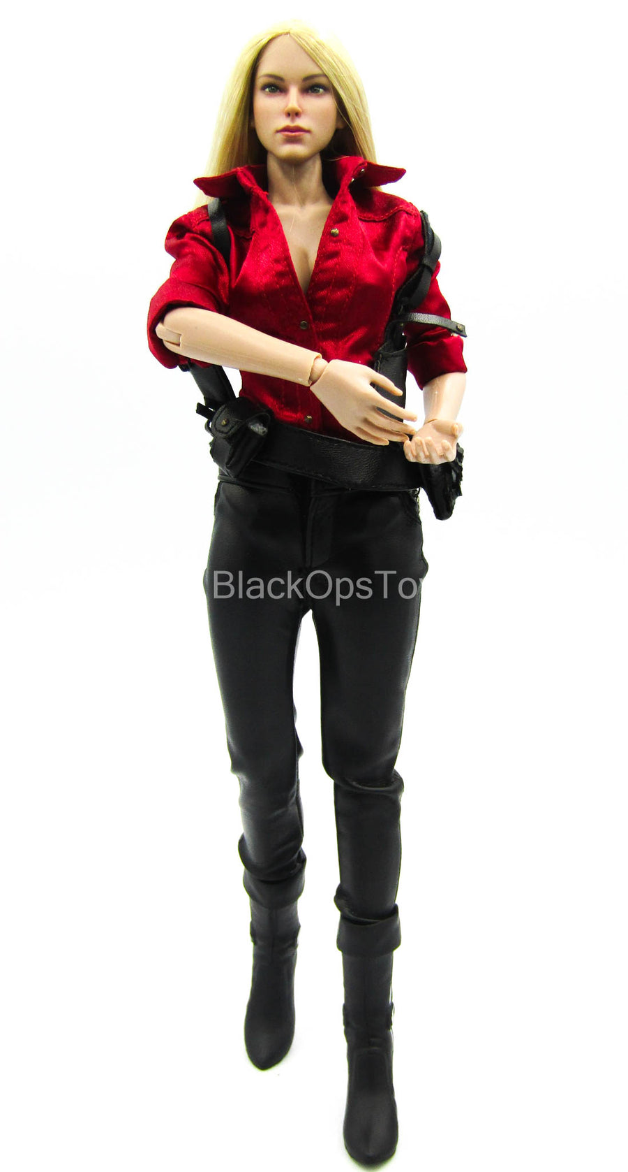 Resident Evil Uniform w/Female Base Body & Blonde Head Sculpt Mint in Box