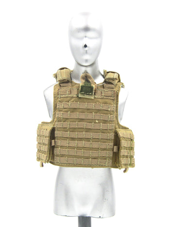 US Navy - EOD - Tan Plate Carrier
