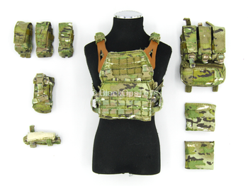 SMU - Tier 1 Operator - Bragg - Multicam Plate Carrier Vest Set