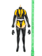 Watchmen Silk Spectre II - Female Body w/Yellow & Black Bodysuit
