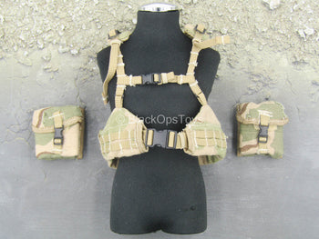 Seal Team 3 - Tan Vest w/Pouches
