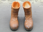 Brothersworker Monkey - Weathered Brown Work Boots (Peg Type)