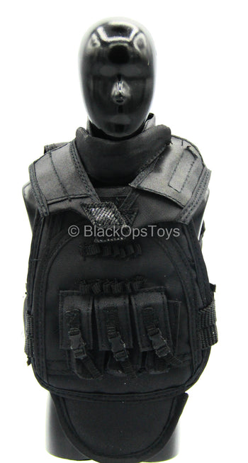 SDU 2.0 - Sniper - Black Plate Carrier Vest Set