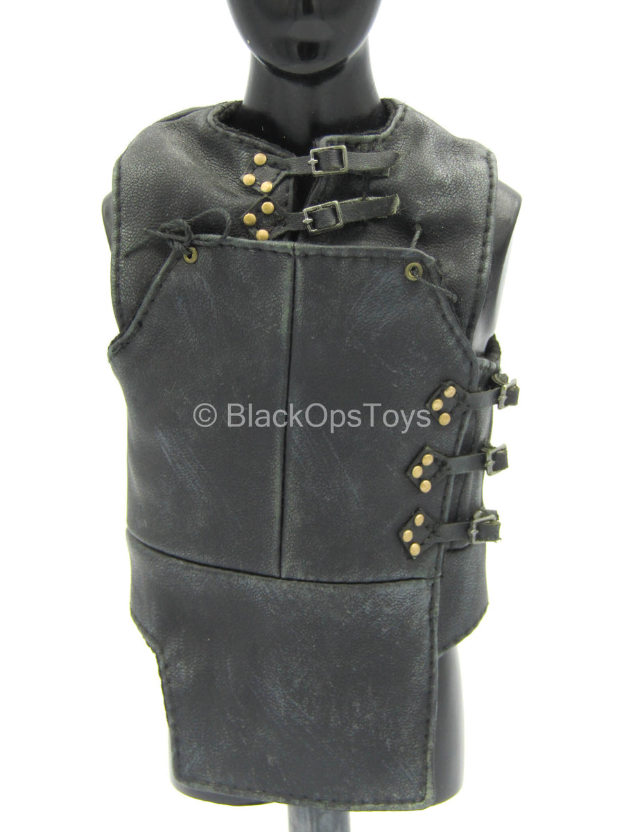 GOT - Jon Snow - Black Leather Like Vest