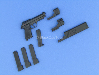 Custom - M9 Pistol w/Suppressor & Extended Mag Set