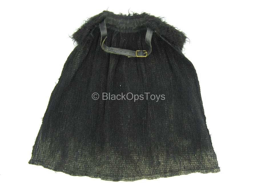 GOT - Jon Snow - Black Fur Like Cape