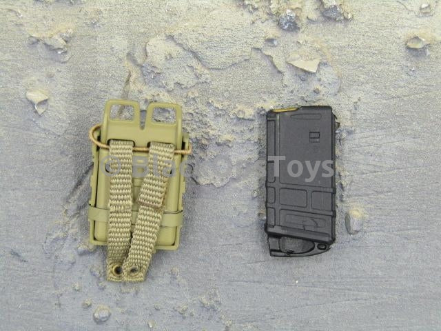 Army FCS TF Tan Fast Mag Holster & 20rd M4 Mag