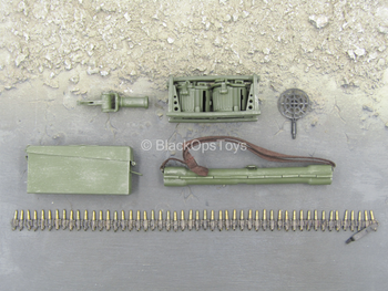 WWII - German MG 42 Gunner B - MG 42 Ammo & Equipment Set