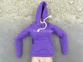 Female Clothing - Purple Hoodie