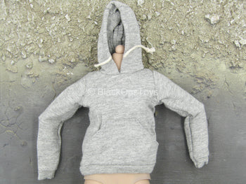 Female Clothing - Gray Hoodie
