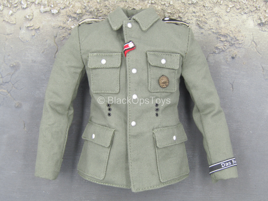 WWII - German MG 42 Gunner B - Green Combat Jacket