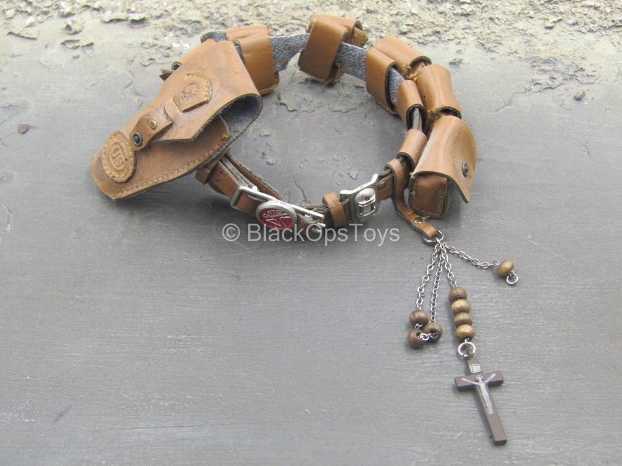 Hellboy 2 - Brown Leather-Like Belt w/Pouch Set