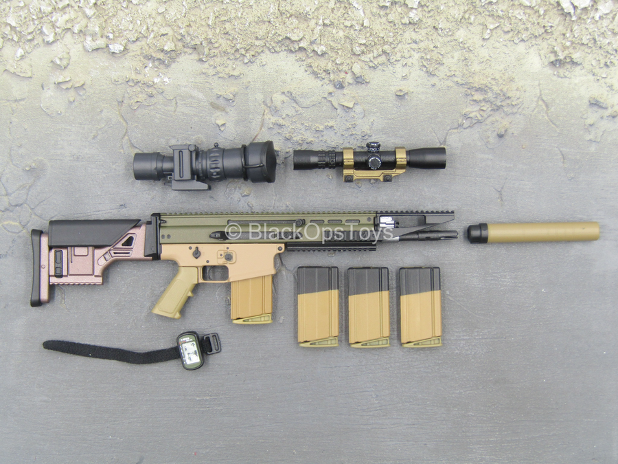 Army Ranger RRC - Mk17 Assault Rifle w/Attachment Set