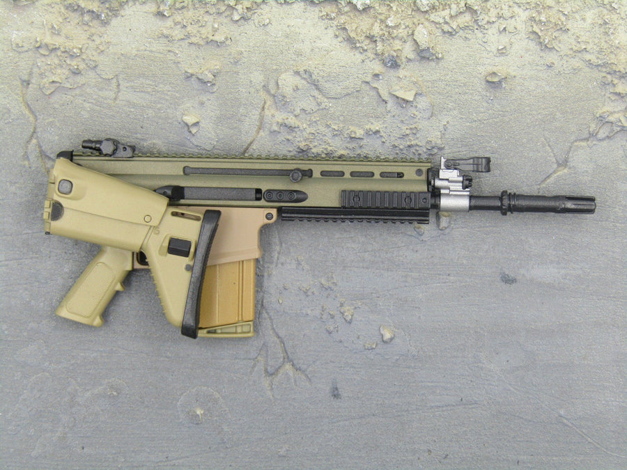 RIFLE - Tan SCAR 7.62 Heavy Assault Rifle