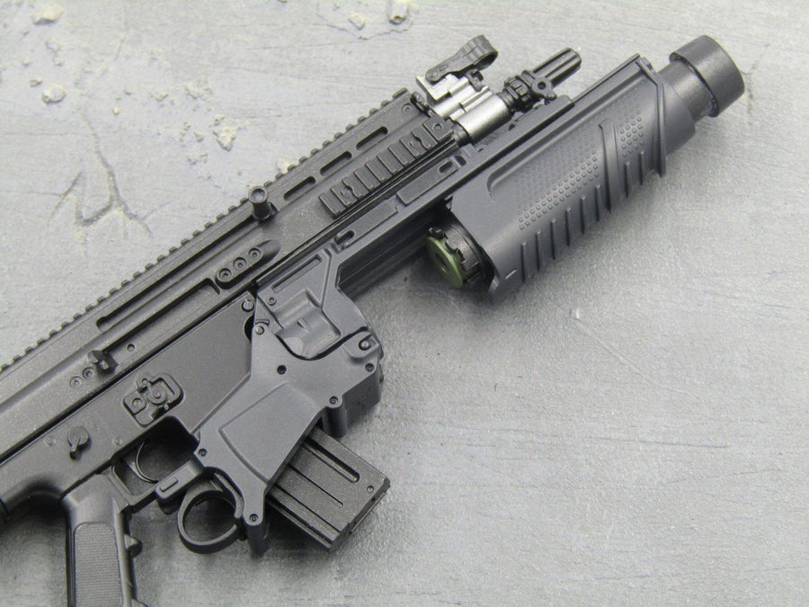 RIFLE - Black EGLM 5.56 Light Grenade Launcher Attachment