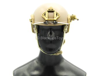 Army Ranger RRC - Tan Helmet w/Helmet Light