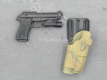 Army Ranger RRC - Spring Loaded M9 Beretta w/Holster
