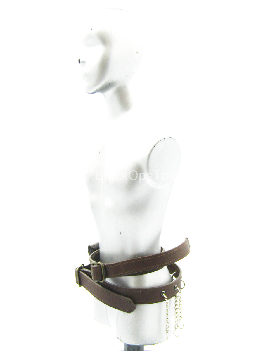 Misty Midnight - Jack the Ripper - Leather Like Belt w/Chains