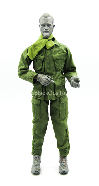 TET Offensive M60 Gunner - Green Combat Uniform Set w/Scarf