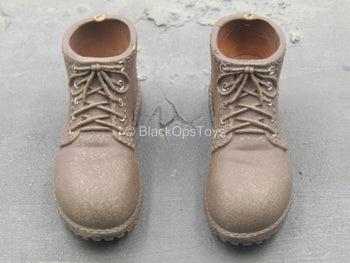 Unexplored Nate - Brown Shoes (Peg Type)