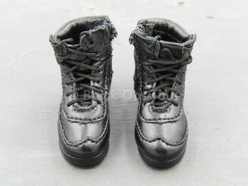 Urban Sniper - Black Combat Boots (Foot Type)