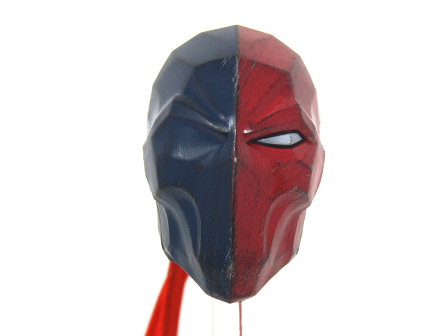 Deathstroke - Blue & Red Masked Head Sculpt