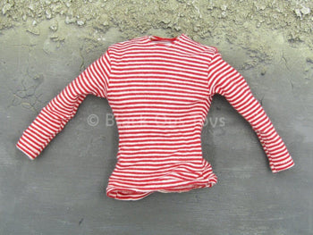 Russian Chechnya Spetsnaz - Red & White Striped Shirt