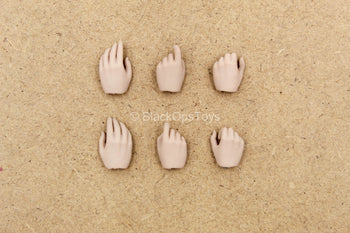1/12 Scale - Female Captain Sparta - Hand Set (x6)
