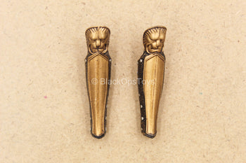 1/12 Scale - Female Captain Sparta - Gold Like Greaves