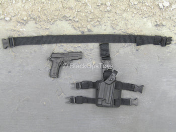 Mountain Ops Sniper - P226 Pistol w/Drop Leg Holster & Belt