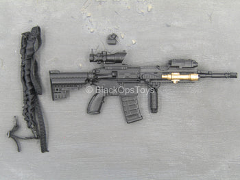 Mountain Ops Sniper - Black HK416 Assault Rifle w/Attachment Set