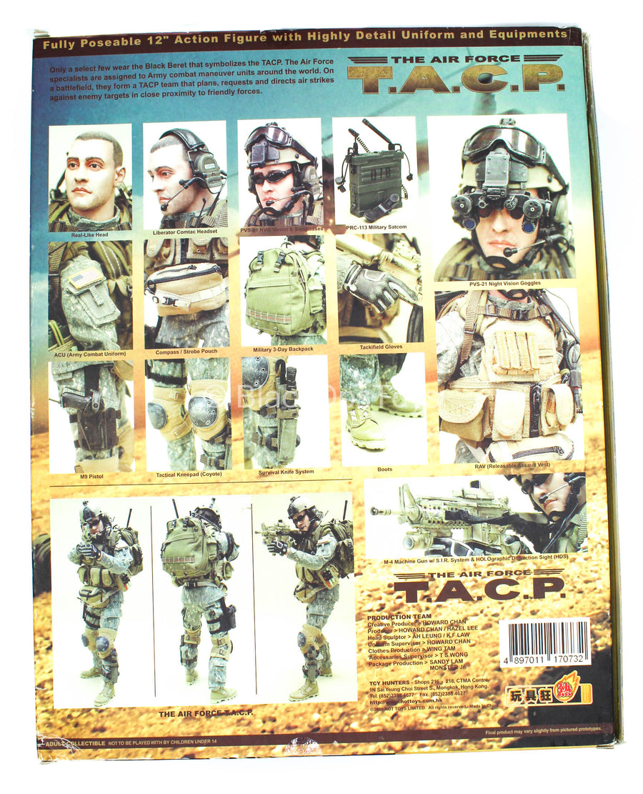 USAF - TACP - Male Base Body w/Head Sculpt