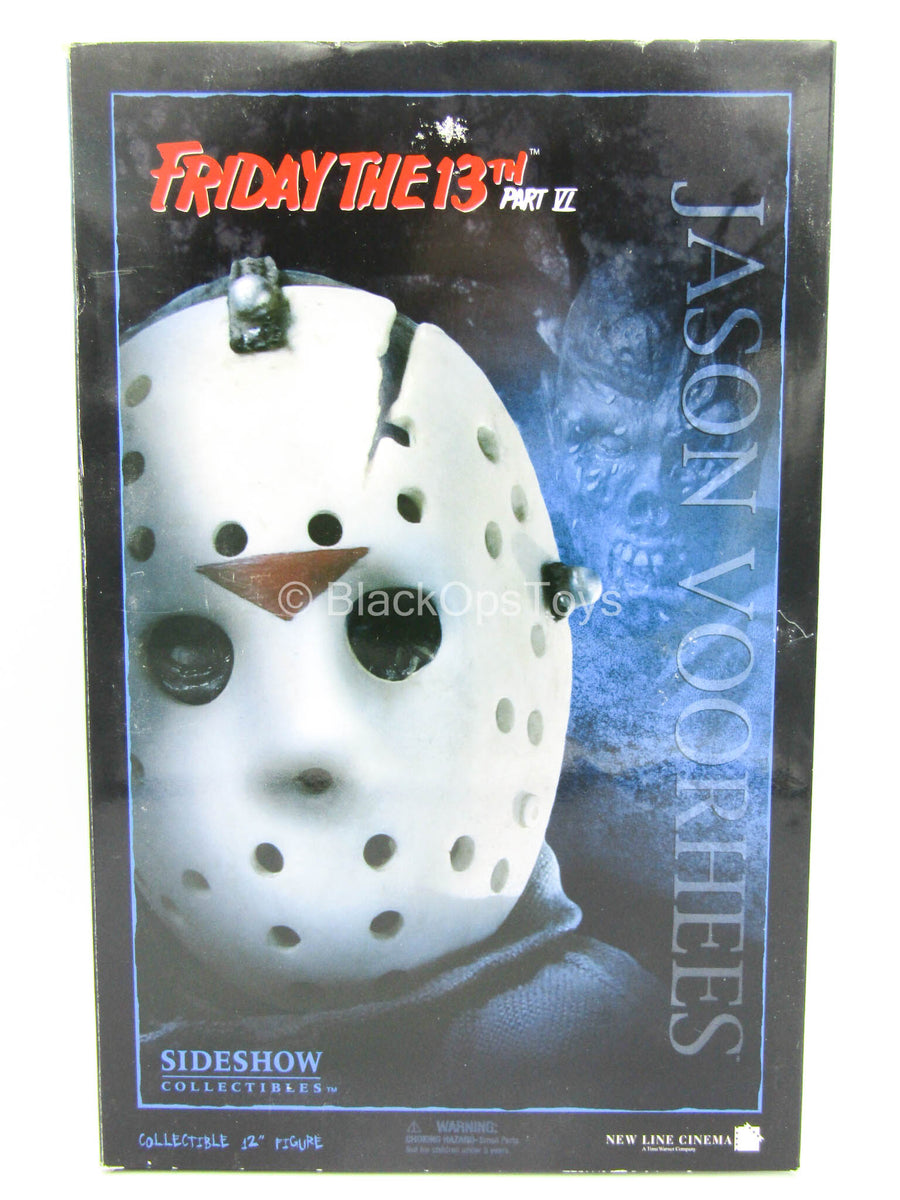 Jason Voorhees - Weathered Hockey Mask w/Crack