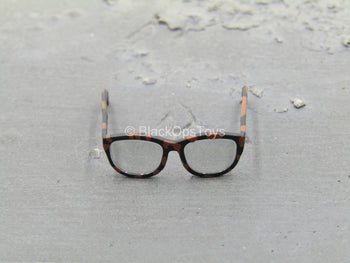 Breakfast At Tiffany's - Holly - Tortoise Shell Print Sunglasses