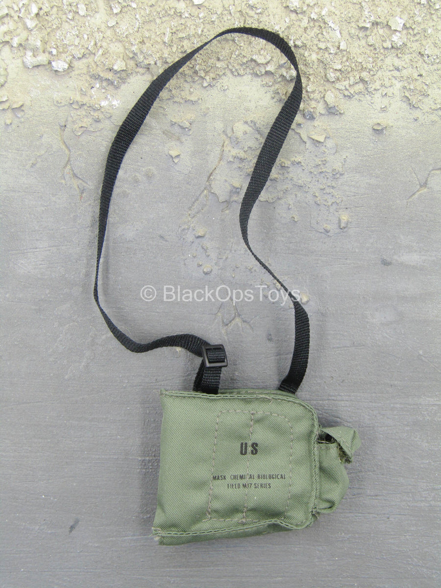 DEVGRU Night Ops - OD Green Gas Mask Pouch