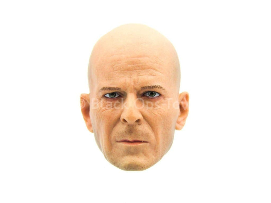 Die Hard - John McClane - Male Bruce Willis Head Sculpt