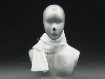 Breakfast At Tiffany's - Holly - White Pashmina Scarf