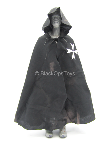 Warriors - Knight Hospitaller - Weathered Black Cloak