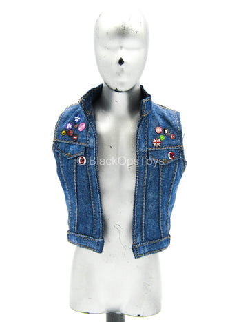 Spiderman - Blue Denim Like Vest