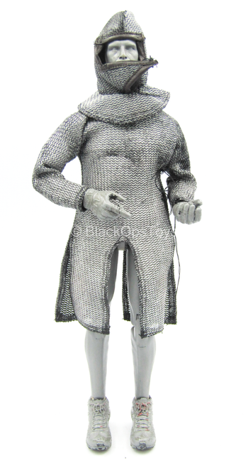 Warriors - Knight Hospitaller - Chain Mail Like Tunic w/Hood