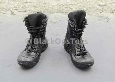Russian Spetsnaz FSB Alfa Group 3.0 Black Combat Boots Foot Type