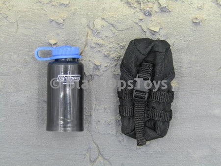 Russian Spetsnaz FSB Alfa Group 3.0 Black Pouch w/Water Bottle Set